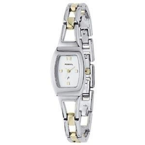 Fossil F2 Two Tone Ladies bracelet Link Watch